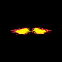 Feuer flamme feuerball agro kollision