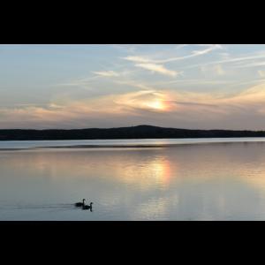 See Abendrot Sonnenuntergang