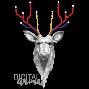Metro Hirsch Digitales Tier [Digital Animal]