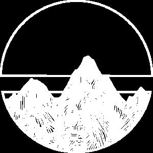 Berge - Alpen - Gebirge - Geometrisch