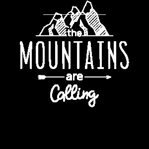Mountainss Funny Humor Damen Mädchen Damen Herren