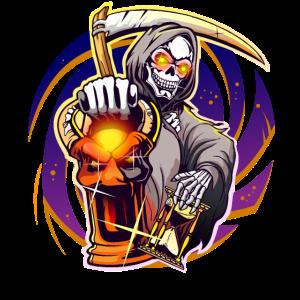 Halloween Sensenmann Grim Reaper Design