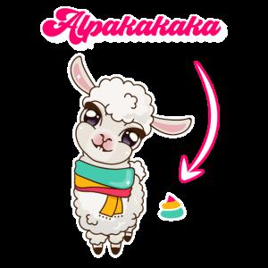 Alpakakaka suesses Alpaka