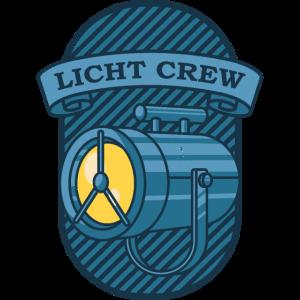 LICHT CREW Retro Licht Lichttechniker Geschenk