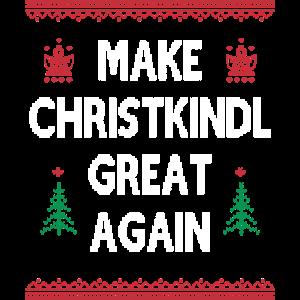 Make Christkind Great Again Geschenk Weihnachten