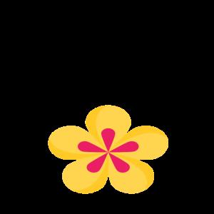 flower power 60er geschenk retro lustig