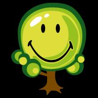 Smiley Oak Tree