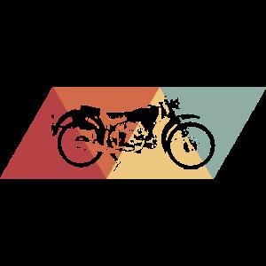 Retro Motorrad Design