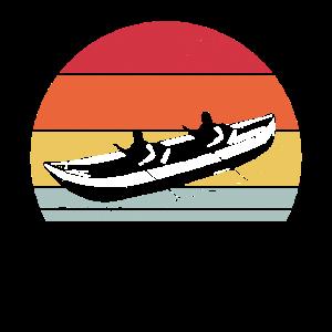 Kajak Ruderboot Paddelboot Kajakfahren Retro