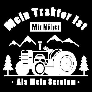 Bauer Shirt ● Traktor näher als Scrotum ● Geschenk