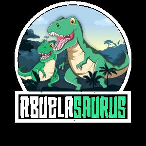 Abuelasaurus TRex Dinosaurier Saurus Latina Oma