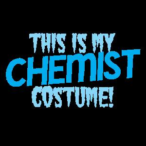 Das ist mein CHEMIST Kostüm