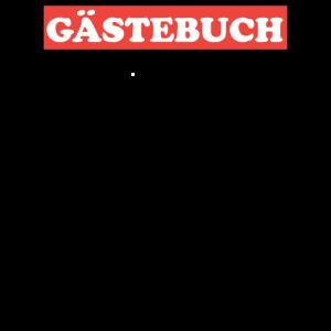 Gästeliste Gästebuch 40 Geburtstag