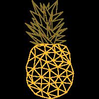 Pineapple (Geometric Style)