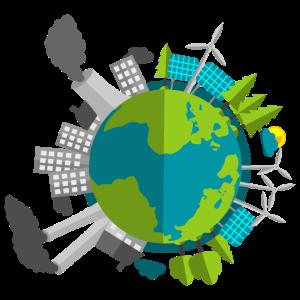Planet Erde - Industrie vs Natur
