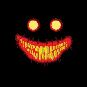 Halloween Geschenk Kostüm Horror Zombie Gruselig
