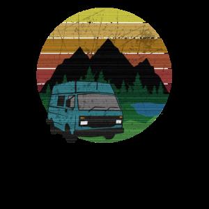 Camping Bus Shirt - für Camper und Abenteurer