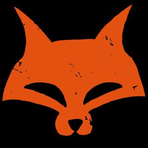 Fuchs Kopf - Fox Head - Vintage - Hipster