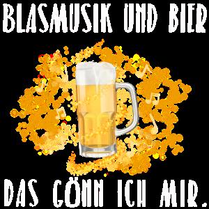Blasmusik und Bier