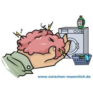 Gehirn waschen mit waschmittel