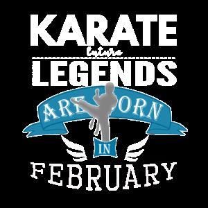 Karate-Legenden werden im Februar geboren