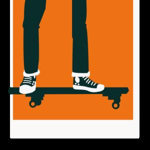 Skateboard Geschenk Idee