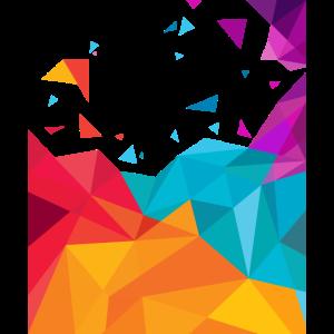 Abstrakte Kunst Geometrie