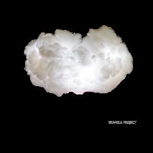 Weiße Wolke KLEIN