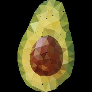 Avocado (Polygon Style)