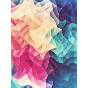 Abstract low poly color pattern design (spectrum)