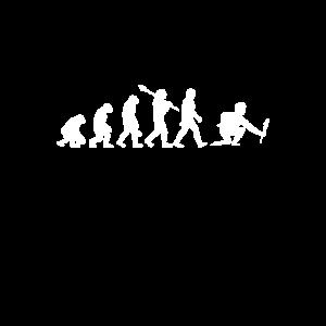 Evolution Pyrotechniker Feuerwerker Pyro Geschenk