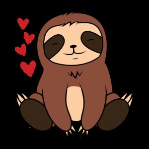 Baby Sloth süßes kleines Baby Faultier