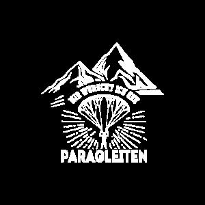 Mir wurscht ich geh Paragleiten Paraglider Berge
