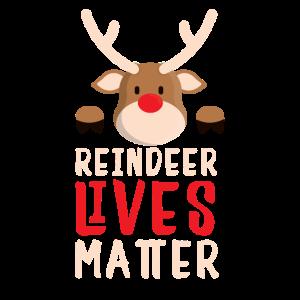 Weihnachten Rentier Leben wichtig