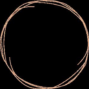 Kreis in Rosa