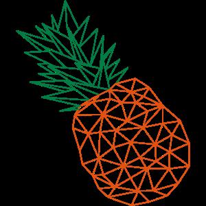Pineapple Hashtag