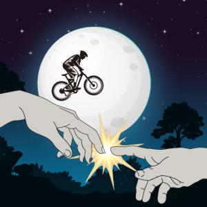 Fahrrad vorm Mond Movie
