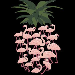 Sehr niedliche Flamingo-und Ananas-Entwurfs-Geschenkidee