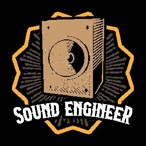 SOUND Engineer Tontechniker Toningenieur Geschenk