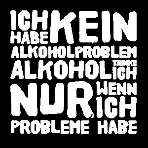 Alkohol Lustiges Biertrinker Shirt