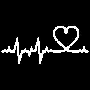 Liebe Herz Herzschlag Heartbeat Geschenk
