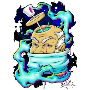 Spray Genius - Graffiti character design