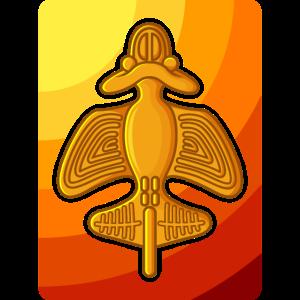 QUIMBAYA FLUGZEUG Ancient Astronaut Alien Geschenk