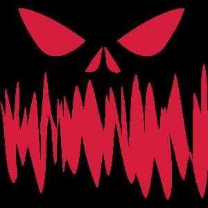 blutiges horror face geschenk Halloween fratze
