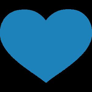 Herz // Blau // Liebe // Heiraten // Hochzeit