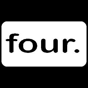 Four Cool Vierte Geburtstag 4 Jahre alt Kinder