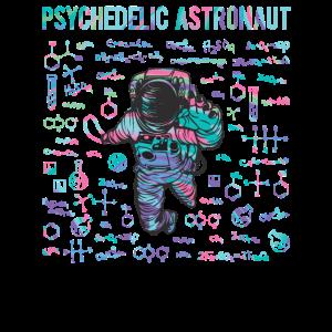 Psychedelischer Astronaut
