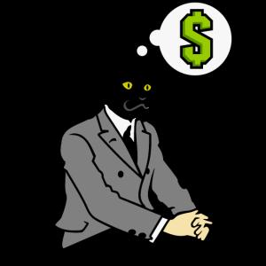 Katze im Anzug / Cat Man (DDP)