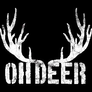 """Deer Hunting Shirt""""OH Deer"""""""