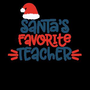 Santas favorit Teacher